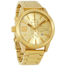 Diesel Rasp Chronograph Gold Dial Mens Watch DZ4446