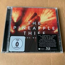 """The Pineapple Thief """"Where We Stood"""" CD + Blu-ray 2020 Sealed [BruceSoord]"""