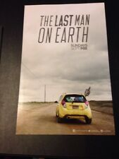 Last Man On Earth Poster SDCC 2015 11 X 17 MINT