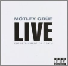 Mötley Crüe - Live Entertainment Or Death [CD]