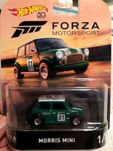 Hot Wheels premium - FORZA Motorsport real riders - Morris Mini - near mint 1/5
