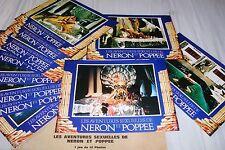LES AVENTURES SEXUELLES DE NERON .. ! jeu photos cinema lobby cards fantastique
