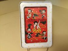 2002 Betty Boop Tin Ball Game Put The Balls In The Holes Brand New