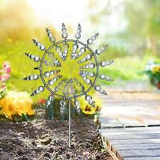 Unique And Magical Metal Windmill Sculptures Move W/ The Wind Lawn Wind Spinners