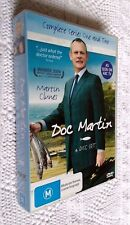 DOC MARTIN-COMPLETE SERIES ONE AND TWO (DVD, 4 DISC BOX SET) R-4, LIKE NEW