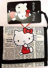 Hello Kitty - Sanrio - Portafoglio in Sintetico Giornale Grande - Cartorama