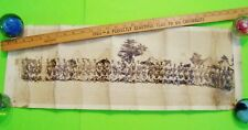 "ca 1936 Panoramic Photo Company 'C' Ft. Meade Maryland C.M.T.C. 29"" X 10"" fair+"