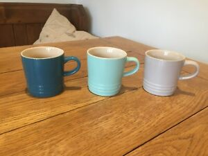 3 x 200ml Le Creuset Coffee Tea Mugs