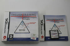 NINTENDO DS NDS ENGLISH TRAINING COMPLETO  PAL ESPAÑA