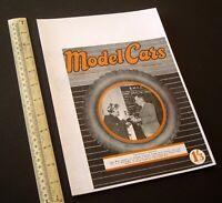 """1947/1980s """"Model Cars"""" Magazine V1#6 RTP Rail & Track Ivan Prior Desktop Copy"""