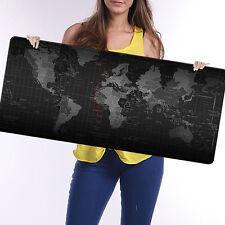 900x400x3mm Größe Weltkarte Speed Spiel Mousepad Matte Laptop Gaming Mousepad #