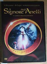 IL SIGNORE DEGLI ANELLI ANIMATO (1978) DVD edizione Deluxe rimas.Nuovo sigillato