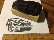2009 NEW Ford MUSTANG GT car Rubber Stamp SHELBY 2008 2010