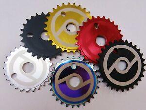 BMX  Bicycle Primo Solid Sprocket V2  Matt Black  or Oil Slick