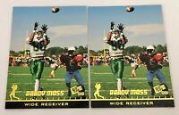 1998 Press Pass #P1 - Randy Moss - Marshall Thundering Herd Promo