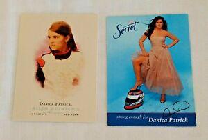Danica Patrick NASCAR Card 2006 Allen Ginter Rookie RC & 2006 Secret Promo RARE