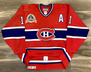 Montreal Canadiens Kirk Muller 1993 Stanley Cup Finals NHL Hockey Jersey Vintage