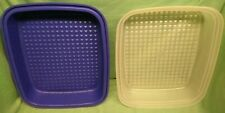 TUPPERWARE SEASON SERVE? CONTAINER - blue