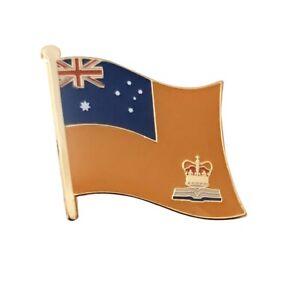 Orange Order Standard Flag Of Australia Ulster Unionist  Enamel Pin Badge 25mm