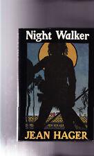 JEAN HAGER-1990-NIGHT WALKER-1st Ed, DJ, 2ndBk, A++