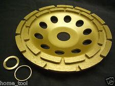 "5"" inch 125mm THK PRO Diamond sintered segment grinding wheel disc 2 ROW"