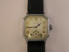 Vintage Art Deco Waltham Watch Eight Sided 1920's
