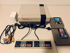 Nintendo NES Console Refurbished + 2 New Controllers + 2 Games Bundle!