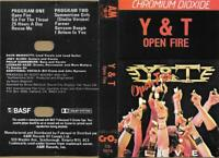 Y & T  :  OPEN FIRE   ( A & M , CANADA )
