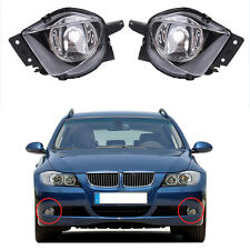 For BMW 05-08 E90 E91 325/328/335 Sedan Euro Clear Fog Light Driving Bumper Lamp