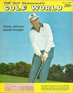 Golf World Magazine 1/12 1971 Howie Johnson Andy Bean wins Junior Babe Zaharias