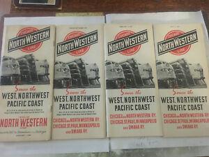 C&NW Chicago & Northwestern RR Public Timetables 1940-41