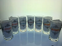 Set of 7 Anchor Hocking Drinking Glasses Heydays novelty barware
