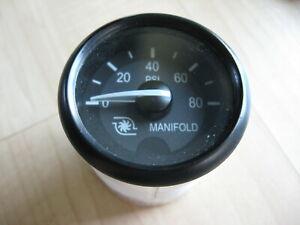 Peterbilt VDO Q43-6002-111B A2C53085192 Manifold Boost Pressure Gauge #M260DT