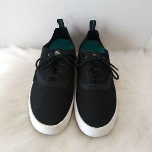 Paul Sperry Flex Deck Men's Sneaker Shoes Lace Up Size 12M STS14310 Black