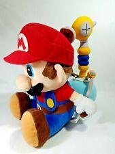 "Super Mario Sunshine MARIO Plush Doll Toy SEGA 2002 Japan Nintendo Jumbo 13"""