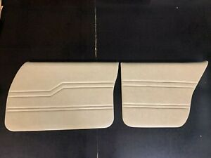 Holden Front and Rear Door Trim Cards (Buckskin) suits HQ, HJ, HX and HZ