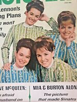 Vintage Collectible Movie Magazine Lennon Sisters Cover July 1967