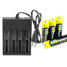 wholesale LQ 18650 3.7V Rechargeable Li-Ion Battery 4 Slot Smart charger USA
