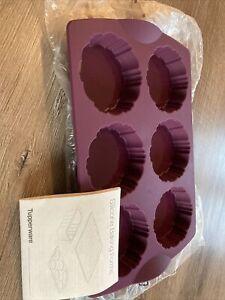 Tupperware Neu Silikon Tartelette Backform Mini Kuchen Obstkuchen
