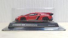 1/64 Kyosho 50th Anniversary LAMBORGHINI VENENO RED diecast car model