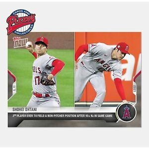 Shohei Ohtani 3rd Player in History  - 2021 MLB TOPPS NOW Card 197 Pre-Sale