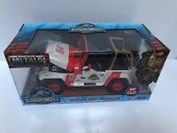 1:24 Jada Jurassic World JP Staff Jeep Wrangler #12 Metal Die-Cast Model #97806