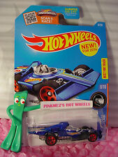 2016 Hot Wheels FORMULA FLASHBACK #8 US✰racing blue;9;Red ✰RACE TEAM✰Case N
