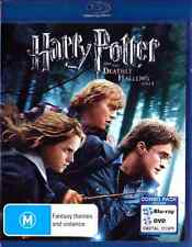 HARRY POTTER AND THE DEATHLY HALLOWS Part 1 New Blu-Ray 4 Disc DANIEL RADCLIFFE