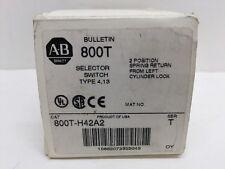 Allen Bradley 800T-H42A2