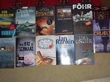 Bücherpaket Buchpaket 11 Krimis Thriller z.B. Charlotte Link