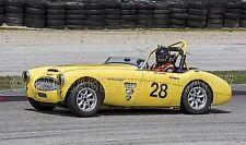 1959 Austin Healey 100/6 sportscar Vintage Classic Race Car Photo CA-1085