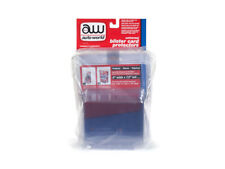 BLISTER CARD PROTECTOR 6 PACKS FOR 1/64 SCALE MODEL CARS BY AUTOWORLD AWDC013
