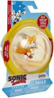 SONIC THE HEDGEHOG 2 INCH TAILS SPHERE ACTION FIGURE WAVE 1 JAKKS SPIN TOY HOBBY
