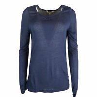 EX Mountain Warehouse Rebecca Long Sleeve Scoop Neck T-shirt
